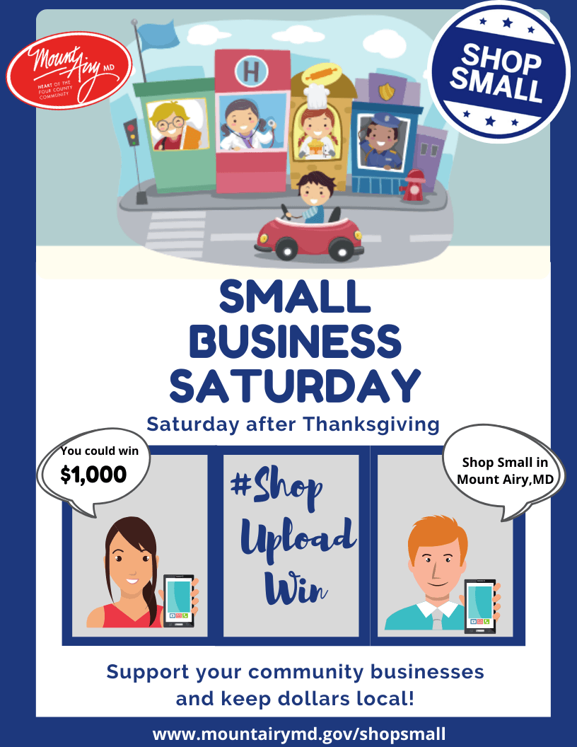 Small business Saturday flyer as image